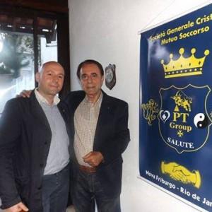 Paolo Trotta Presidente della PT Group Salute e Giuseppe Arnò, Presidente della PT Group Salute Brasile