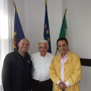 Paolo Trotta, Marco Papini e Giuseppe Arno