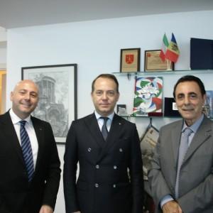 Paolo Trotta, Enrico Nunziata e Giuseppe Arno'
