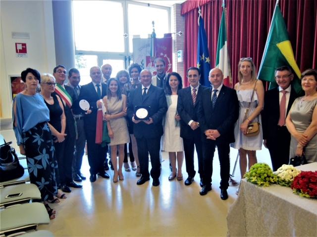 Gruaro premiata da Asib e PT Group Salute ospitalità gruarese 1