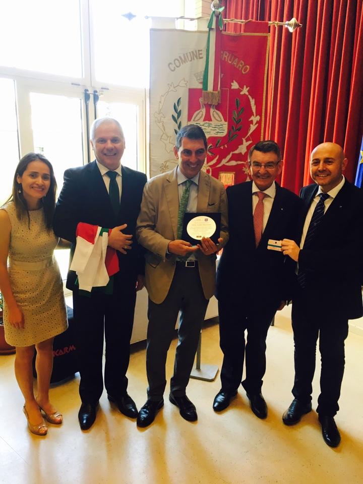 Gruaro premiata da Asib e PT Group Salute ospitalità gruarese 10