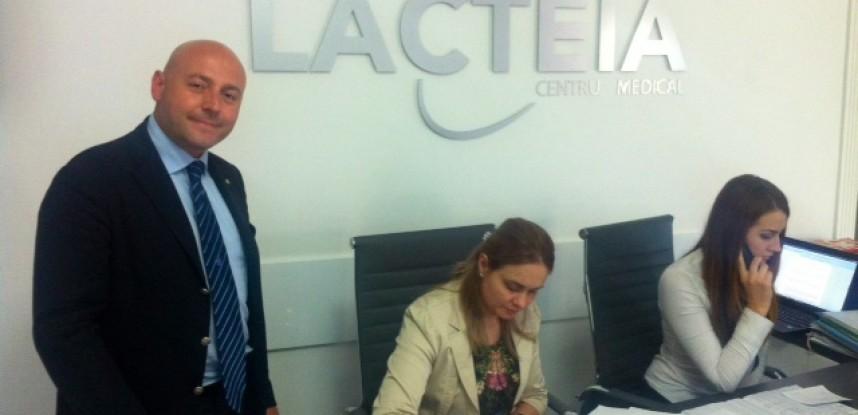 Il Presidente di PT Group Salute Paolo Trotta in visita in Moldova